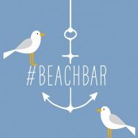 Serviettes 33x33 cm - Beach Bar 33x33 cm