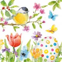Napkins 33x33 cm - Easter Bird 33x33 cm