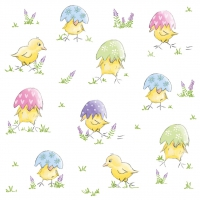Napkins 33x33 cm - Easter Chick Napkin 33x33