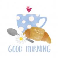 Servilletas 33x33 cm - Good Morning Napkin 33x33