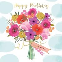 Napkins 33x33 cm - Happy Flowers Napkin 33x33