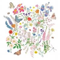 Servilletas 33x33 cm - Nature Romance Napkin 33x33