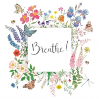 Servilletas 33x33 cm - Nature Breathe Napkin 33x33