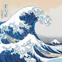 Servietten 33x33 cm - The Great Wave Napkin 33x33