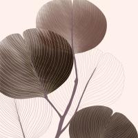 Servietten 33x33 cm - Autumn Breeze brown Napkin 33x33