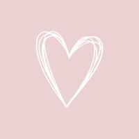 Napkins 33x33 cm - Pure Heart rosé Napkin 33x33
