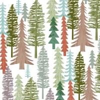 Napkins 25x25 cm - Forest Napkin 25x25
