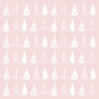 Servietten 25x25 cm - Pure Mood rosé Napkin 25x25