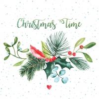Napkins 25x25 cm - Christmas Time Napkin 25x25