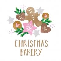 Napkins 33x33 cm - Christmas Bakery 33x33 cm
