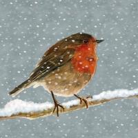 Servietten 33x33 cm - Snow is falling Napkin 33x33