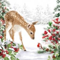 Servietten 33x33 cm - Bambi Napkin 33x33