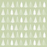 Napkins 33x33 cm - Pure Mood green Napkin 33x33