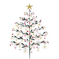 Servilletas 33x33 cm - Simply Christmas Napkin 33x33