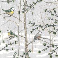 Napkins 33x33 cm - Snow Paradise Napkin 33x33