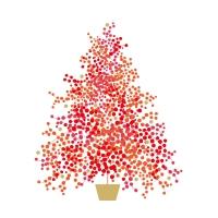 Serwetki 33x33 cm - Seasons Tree Napkin 33x33