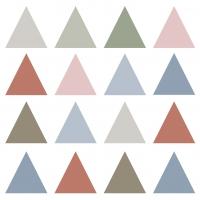 Napkins 33x33 cm - Pure Triangles Napkin 33x33