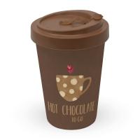 Taza de bambú para llevar - Hot Chocolate