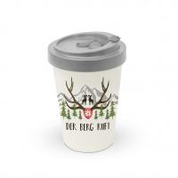Bamboo mug To-Go - Der Berg ruft Travel Mug