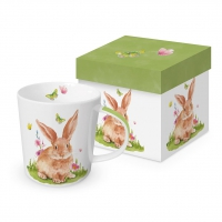 Porcelain cup with handle - Mr. Rabbit Trend