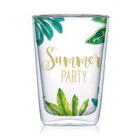 Vetro a doppia parete - Jungle Summer Party Latte MacchiatoDW