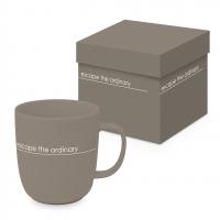 Porcelain cup with handle - Pure Escape