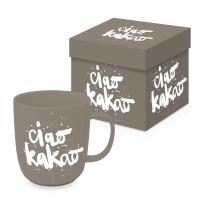 Porcelain cup with handle - Ciao Kakao