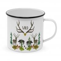 Metalowy puchar - Wild Happy Metal Mug