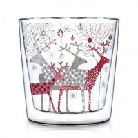 Vetro a doppia parete - Scandic Christmas Trendglas DW