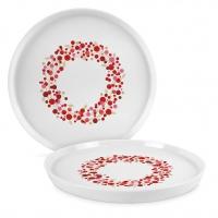 Porcelain plate 27cm - Seasons Greetings Trend Plate 27