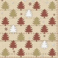 20 napkins 33x33 cm - Winter Forest
