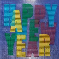 20 napkins 33x33 cm - Colourful Happy New Year
