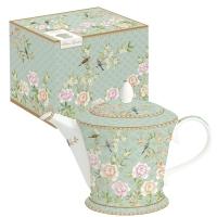 Teapot - Palace Garden aqua