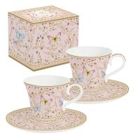 Porcelain Cup - Majestic Butterflies