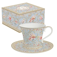 Porcelain Cup - Majestic Flowers