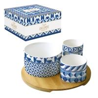 Ciotola in porcellana - Coffee Mania - GBLU
