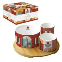 Ciotola in porcellana - Coffee Mania - ILLU