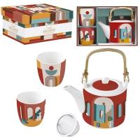 Set da tè - Coffee Mania - ILLU