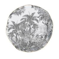 Porcelain plate 26cm - Rain Forest