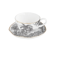 Taza de porcelana - Rain Forest