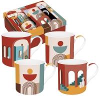 Set di tazze 300ml - Coffee Mania - ILLU