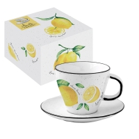 Taza de porcelana - Amalfi
