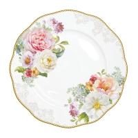 Placa de porcelana de 27 cm. - Romantic Lace