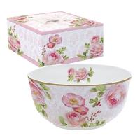 Porcelain bowl - Floral Damask