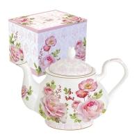 Teapot - Floral Damask