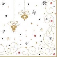 Napkins 33x33 cm - Merry Christmas
