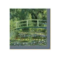 Napkins 33x33 cm - Water Lilies