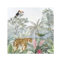 Serviettes 33x33 cm - Tropical Paradiese