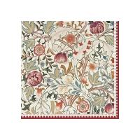 Napkins 33x33 cm - William Morris natural