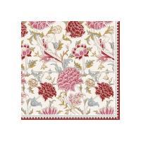 Napkins 33x33 cm - William Morris pink